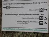 4.11.15 Zum Brauhaus in Barmen, Wegezeichen