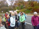 4.11.15 Begrüßung durch Wanderführer Heinz