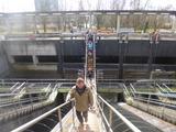16.3.16 Klärwerk Düsseldorf-Hamm, Zulaufkanal Schmutzwasser