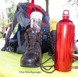 02.07.16 Zum Wandern braucht man .....(SGV-Stand auf dem 50-jährigen Erkrather Stadtfest)