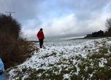 14.01.17 Unsere traditionelle Grünkohlwanderung: Im Schnee