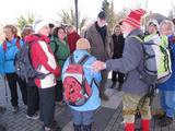 25.02.17 Ein Wintertag an der Wupper, Begrüßung durch WF Heinz
