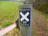 04.03.17 von Wuppertal nach Langenfeld, Wegezeichen