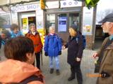 04.03.17 von Wuppertal nach Langenfeld, Begrüßung durch WF Vera