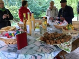 17.04.17 Osterwanderung  -  Hildes Geburtstags-Picknick