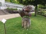 13.05.2017 Wandern um Solingen-Wald - Die Leseeule, Skulpturen im Botanischen Garten