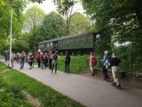 13.05.2017 Wandern um Solingen-Wald  -  Die Bahntrasse in Solingen