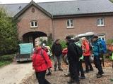 28.10.17 Wanderung Herbst am Niederrhein  -  vor dem Gelleshof, einem ehemaligen Rittergut in Kehn / Tönisvorst