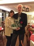 10.12.17 Ein Dankeschön für Vorsitzenden Karl-Heinz und Ehefrau Brigitte