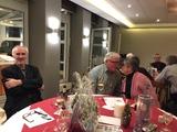 10.12.17 Monika und Wolfgang durften wir auch wiedersehen auf  unserer SGV-Weihnachtsfeier im Hotel im Park