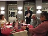 10.12.17 Vorsitzender Karl-Heinz Hadder eröffnet  unsere SGV-Weihnachtsfeier im Hotel im Park in Haan