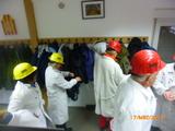 17.3.18 Trainingsbergwerk Recklinghausen, Umziehen in der Kaue