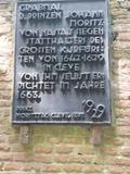 12.05.2018 Wir sind am Grab und der Gedenkstätte des Prinzen Moritz von Nassau, Siegen