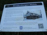 06.10.2018 Auf dem Ruhrhöhenweg mit Karl Heinz kommen wir an der Rindersberger Mühle vorbei.