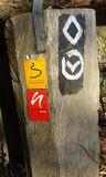 17.11.18 Von Gruiten nach Düssel, unsere Zeichen