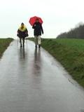24.11.18 Pat und Patachon,  unterwegs von Millrath nach Erkrath