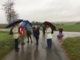 24.11.18 Im Regen von Millrath nach Erkrath