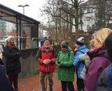 29.12.18 Wanderführer Heinz begrüßt die Wandergruppe zur Jahresabschlusswanderung.