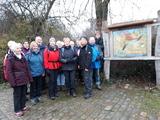12.01.2019 Kunstweg Düsseldorf. An der Erftmündung mit Karl Heinz