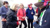 28.02.2019 Unsere Nordic Walkin Gruppe feiert Altweiberfasenacht