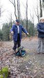 2.03.2019 Heute wandern wir mit Erwin durch den Wuppertaler Raum bis Gräfrath.