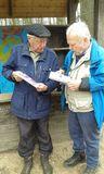 6.03.19 mit Wanderführer Erwin und Albert zum Fischessen
