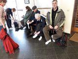 20.03.19 Buddhistische Tempelanlage, Schuhe aus, Socken an