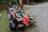 8.06.19 Wannebach Vally, wir warten auf dn Krankenwagen