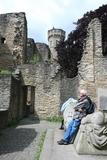 8.06.19 Burganlage Hohensyburg, unser Gast aus Remscheid