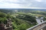 8.06.19 Burganlage Hohensyburg, Mündung Lennein die  Ruhr