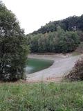 7.8.2019 Die Vorsperre der Wuppertalsperre hat sehr wenig Wasser.