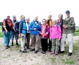 17.08.19  Eifelbahnsteig, mit Wanderführerin Ingeborg (hi, rechts)