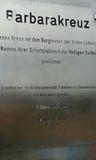 28.09.19 Auf dem Bergischen Weg, Barbara Kreuz der Bergleute