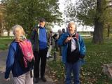 26.10.19 Los geht's mit Wanderführern Albert und Erwin zur Wanderung an Rhein und Erft