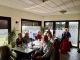 30.11.19 Und zum Schluss: Einkehr in der Trattoria Quo Vadis in Mülheim