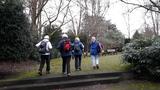 11.01.2020 Der Stadtpark in Neuss im Winter.