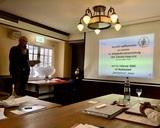 15.02.20 Vorsitzender Karl-Heinz eröffnet unsere Mitgliederversammlung