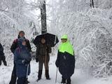 26.02.20 Auf dem Röntgenweg im Schnee.