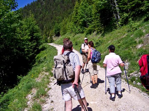 SGV-Fahrt nach Waidring 2007