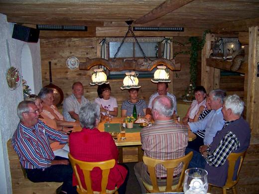 SGV Fahrt nach Waidring 2007