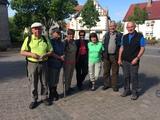 Unsere Wandertruppe: Manfred Roland , Christina Seitz , Annette Asseburg , Doris Lingemann , Ulrike Mikat , Werner Hoppe u. Wolfgang Lingemann