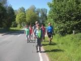 auf der Wanderung nach Warburg