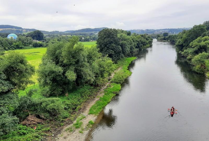 Still fließt die Ruhr