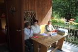 Ausgabe der Stimmkarten für die Mitglieder der Abteilung Bochum e.V.