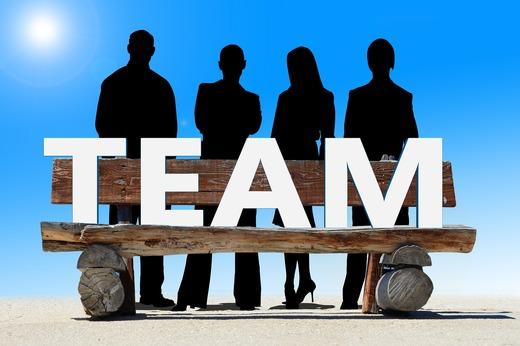 Gemeinsam sind wir ein Team!