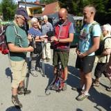 SGV-Kappen für die polnischen Wanderfreunde