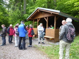 Bild 03 Rast an unserer Schutzhütte