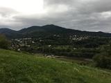Bild 20 Blick auf den dunklen Schwarzwald und Müllheim