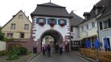 Bild 23 nach der Mittagsrast in Sulzburg – Torhaus -, es hatte leicht geregnet
