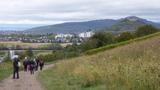 Bild 24 kurz vor Staufen mit der Burgruine Staufen,